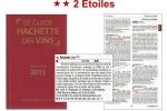 Château Anthonic - Guide Hachette Sélection 2013