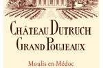 Château Dutruch Grand Poujeaux - Etiquette (2009)