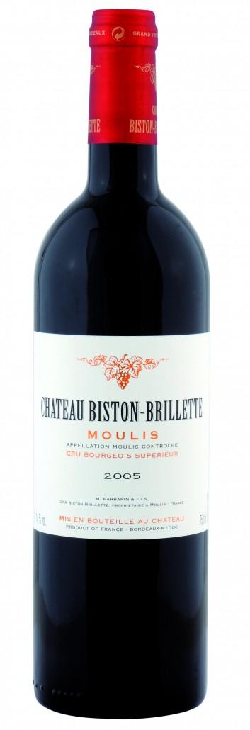 Château Biston-Brillette - Bouteille (2005)
