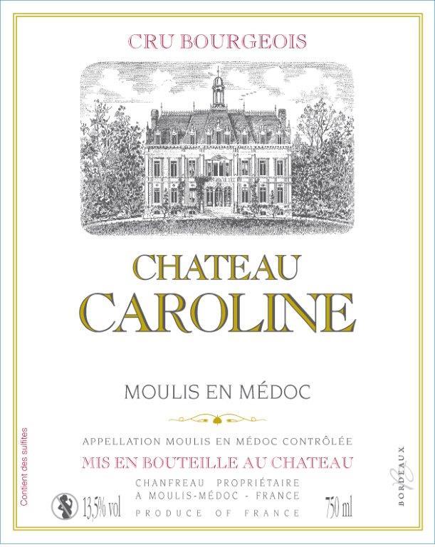Chateau Caroline - Etiquette