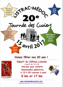 La Tournee des Cuviers 2017 Etoiles