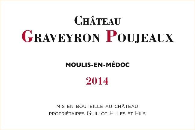 Chateau Graveyron Poujeaux - Etiquette 2014