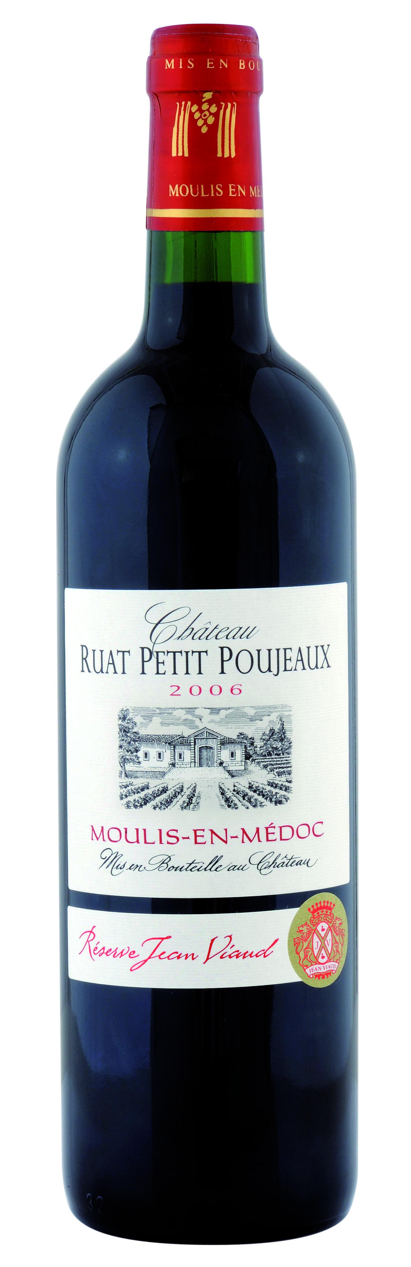 Château Ruat Petit Poujeaux - Bouteille (2006 Jean Viaud)