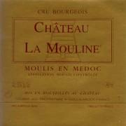 Château La Mouline - Etiquette