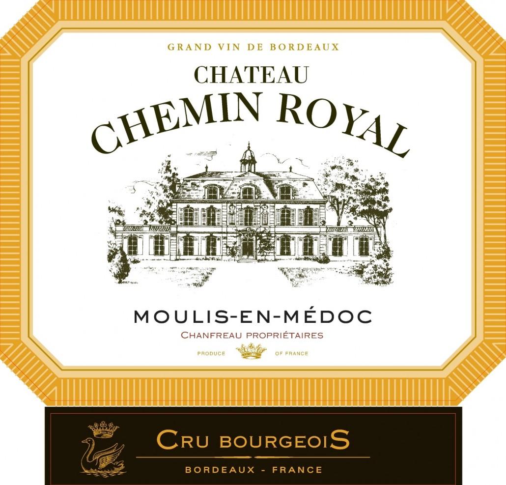 Chateau CHEMIN ROYAL - Etiquette sans millésime