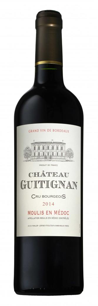 Chateau Guitignan - Bouteille 2014 web