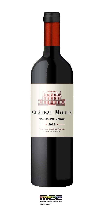 Chateau Moulis - Bouteille 2015