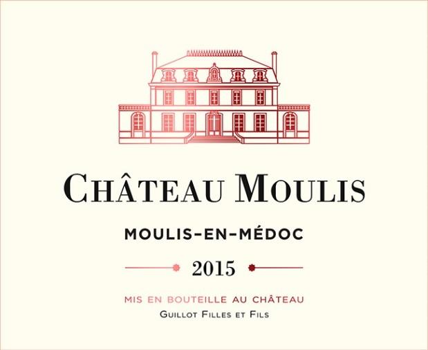 Chateau Moulis - Etiquette 2015