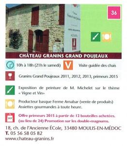 WEPO 2016 - Granins Grand Poujeaux