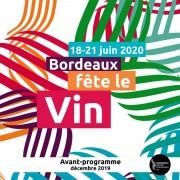 Bx Fête le Vin 2020 - Avant Programme