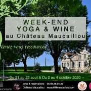 2020 - Affiche WE Yoga & Wine