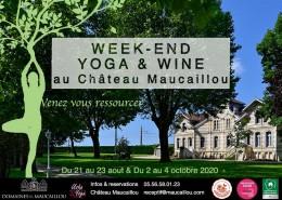 2020 - Affiche WE Yoga & Wine
