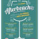 Afterbeach 2020 - Affiche Programme