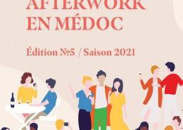 Affiche Afterwork en Médoc 2021